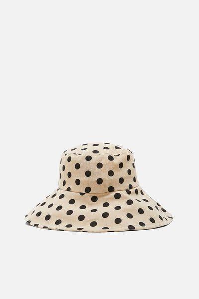 Gorras Gorros Y Sombreros Mujer Nueva Coleccion Online Zara Espana Zara New Bucket Hat Hats