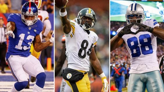 Ranking the NFL's top 10 wide receivers after Calvin Johnson's retirement.