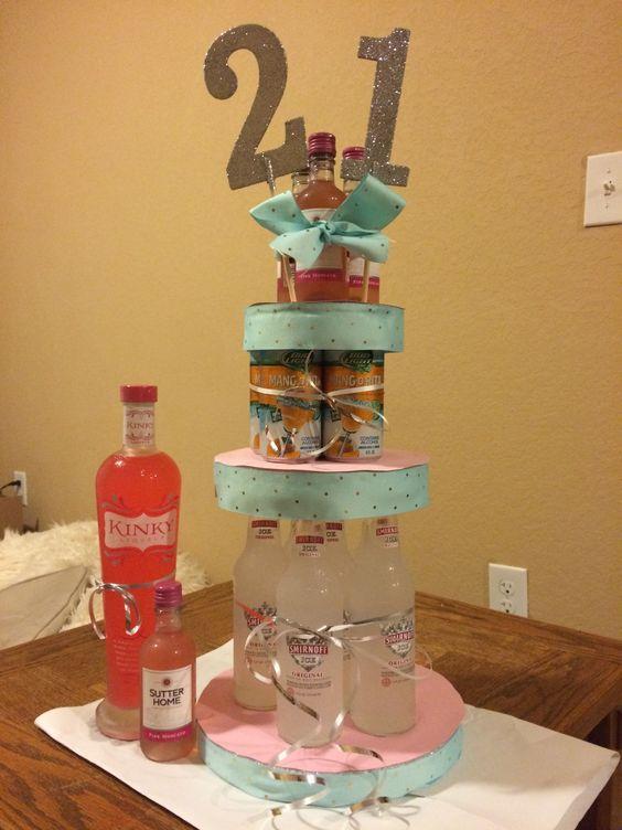21st Birthday Alcohol And Birthdays On Pinterest