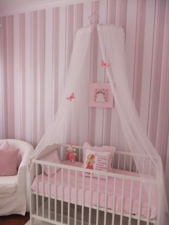 Pinterest the world s catalog of ideas for Diy canopy over crib