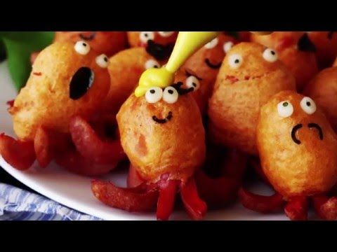 "Tastemade Japan - Fried ""Octopus"" Hotdogs"