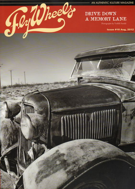 JOYRIDES ART CO: Starlite Rod & Kustom In The New FlyWheels Magazine