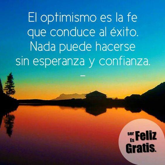 Optimismo ...