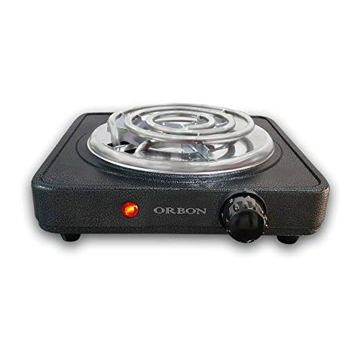 Orbon 1250 Watts With Thermostat On Off Indicator G Coil Electric Cooking Stove Induction Cookt Induction Cooktop Cooking Stove Cooktop