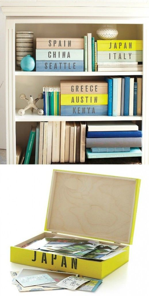 Great idea to store your vacation photos