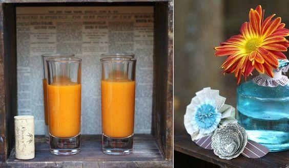 soup shots - Celebrations At Home blog