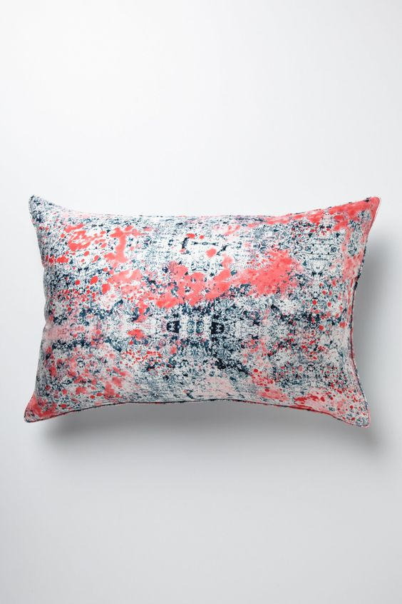 Morphology Silk Pillow - Anthropologie.com