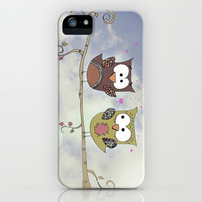 Love Owlways iPhone Case by Christine Hall - $35.00