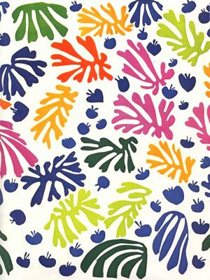 Matisse, La Perruche et la Sirène, 1953.