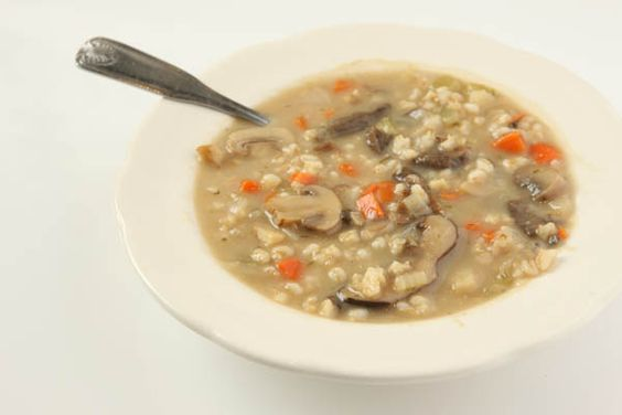... Soup | Jewish Deli Food | Pinterest | Mushroom barley soup, Soups and