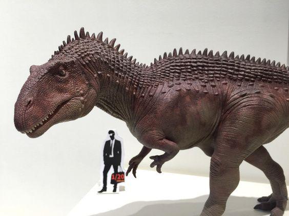 Acrocanthosaurus(scale1/20): by Mountain's Animal Studio  - Lu Feng Shan