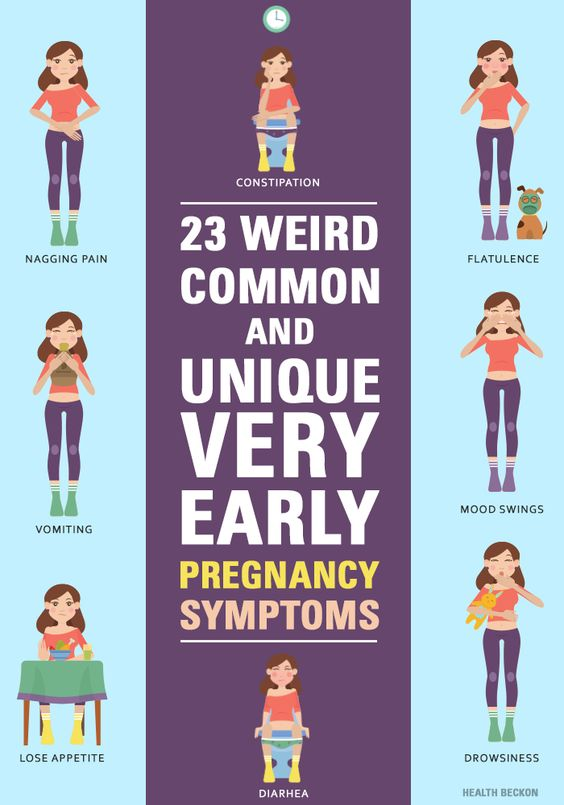 23 Weird, Common, And Unique Very Early Pregnancy Symptoms Pregnancy & Postpartum