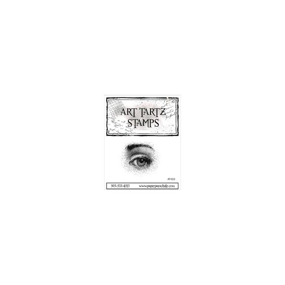 "Art Tartz Cling Rubber Stamps 2""X2"" - Large Eye"