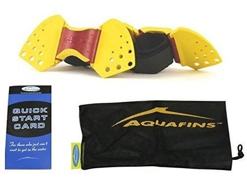 TheraBand Aquafins Aquatic Exercise Kit For Water Resistance Training for Upper/Lower