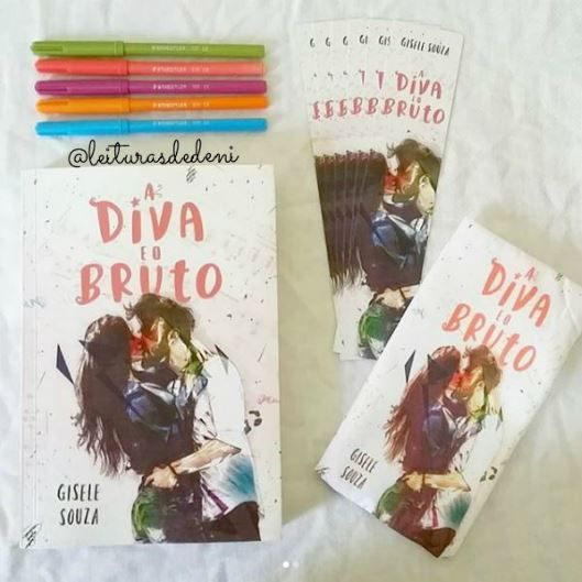 Leiturasdedeni Book Haul A Diva E O Bruto Da Gisele Souza