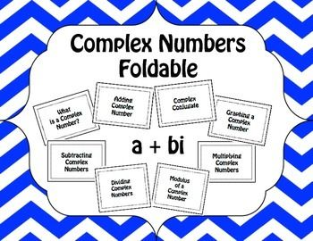 math worksheet : complex number foldable  absolute value numbers and fun : Adding And Subtracting Complex Numbers Worksheet