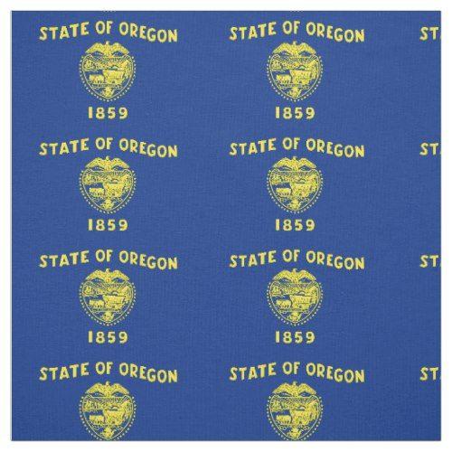 Patriotic Oregon State Flag Fabric Oregon State Flag Fabric Flags Oregon State