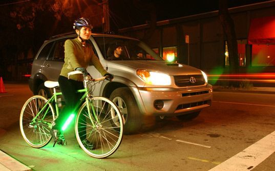 Ultra Bright Down Low Glow Lights For Your Bike Bike Bicycle