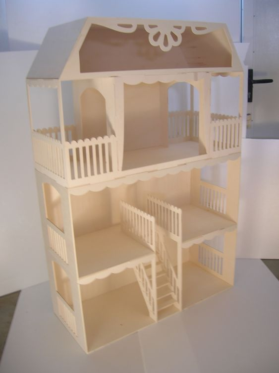 Barbie and construction on pinterest for Construire meuble en bois