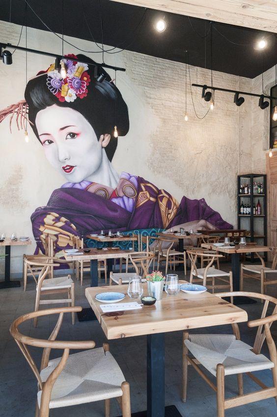 Restaurante japonés 'Takumi'. Sevilla.