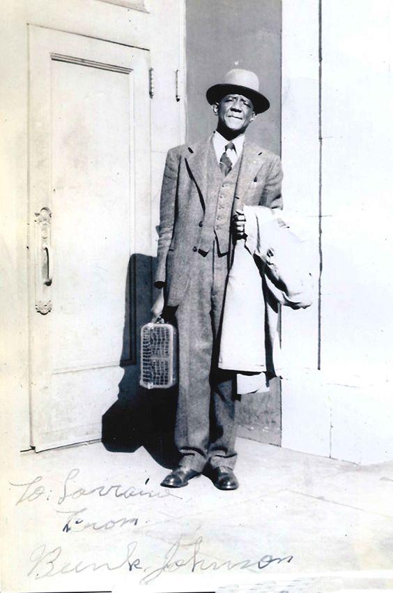 Bunk Johnson arriving in San Francisco