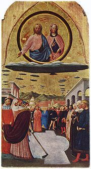 The Miracle of the Snow by Masolino da Panicale