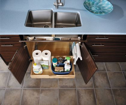 StarMark Cabinetry Base with Towel Bar Drawer and Roll Out Tray. A ...