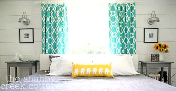 Master Bedroom Makeover Reveal Bed Placement Planked Walls And Love The