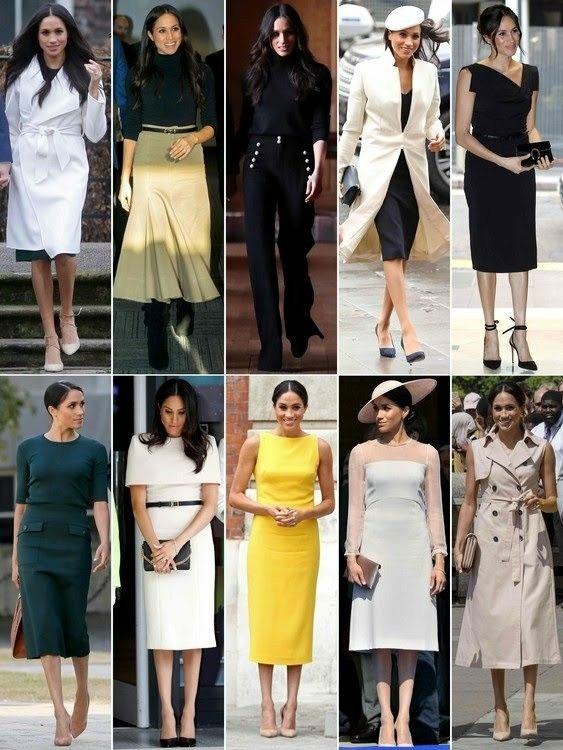 Meghan Markle | Trajes femininos, Vestidos e Vestidos floridos