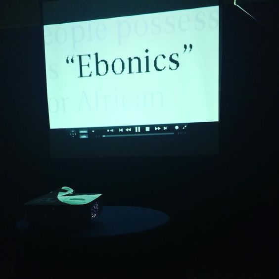 "Screening a new documentary called ""The E-Word: A Documentary on the Ebonics Debate"" #ASALH100 #urbanbulletin #history"