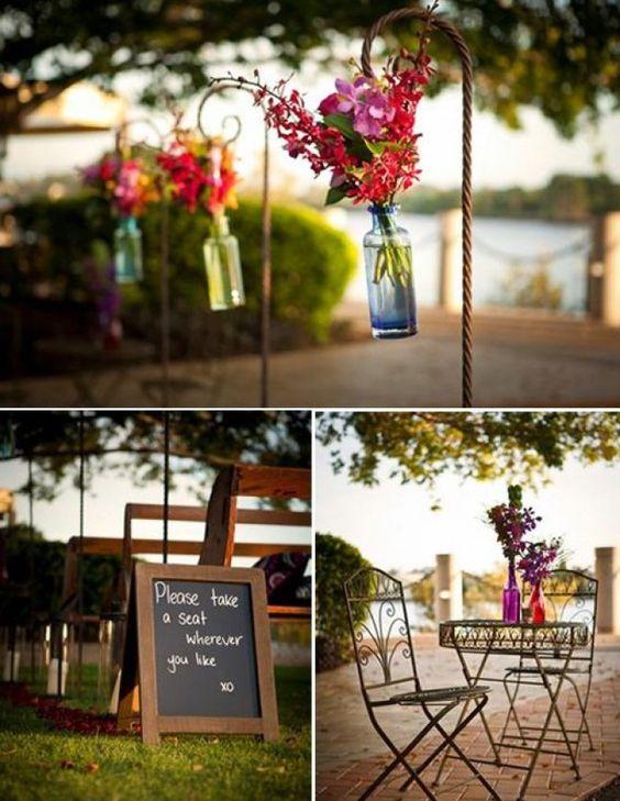 Voor in de tuin/bruiloft?