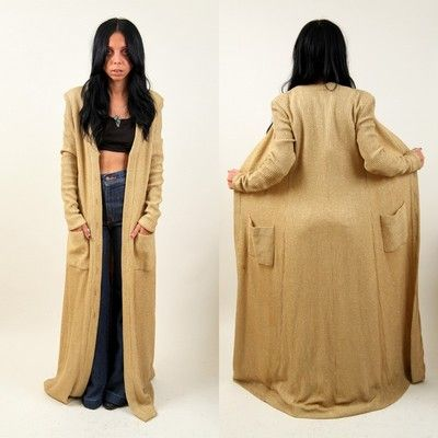 Floor Length Cardigan Delectable 51 Best Fashion : Full Length ...