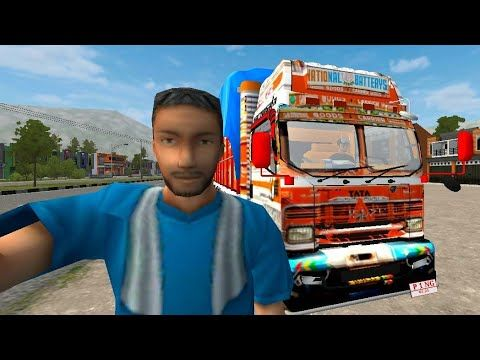 Tata Truck Mod For Bus Simulator Indonesia Truck Game Truck Transpor Truck Mods Truck Games Bus Games