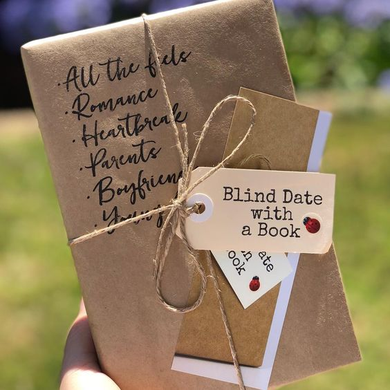 I received my blind date with a book in the mail today and I can't wait to read it! There are so many different books to choose from and…