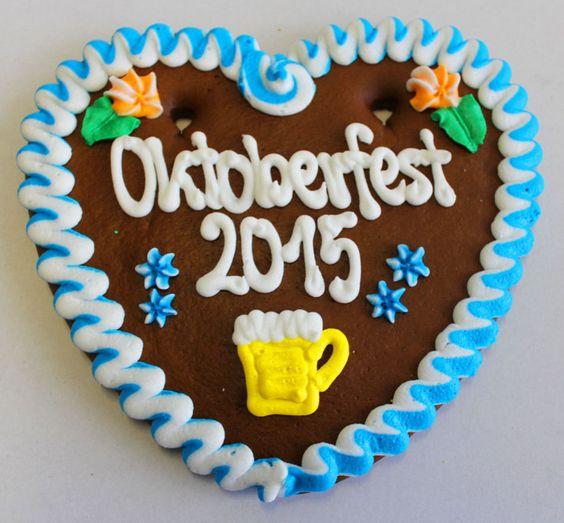 Lebkuchenherz Oktoberfest 2015