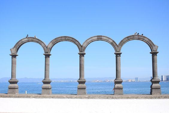 Arquitectura, Viejo, Piedra, Cielo, Viajar, Playa, Mar