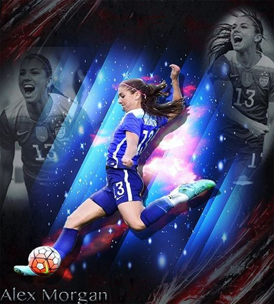 Alex Morgan vs France in the SheBelieves Cup!!!! Scored in the 90+1 minute!!!! 1-0, gave the USWNT the lead!