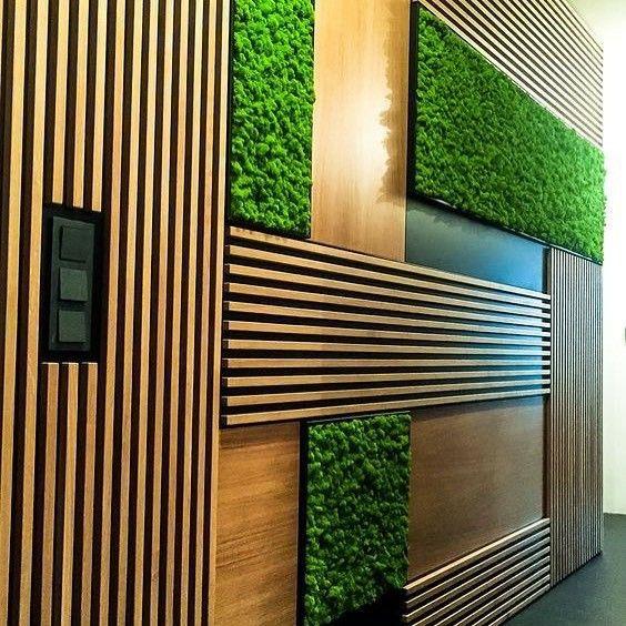 ديكورات بديل الخشب ديكورات بديل الخشب ديكورات 3d بديل الخشب شرائح خشبيه لتواصل 0535711713 Green Wall Design Cool Walls Wall Decor Design