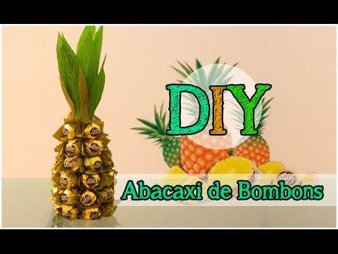 DIY: Abacaxi de Bombons | Dica de Presente | Dica de Decoração #tododia25