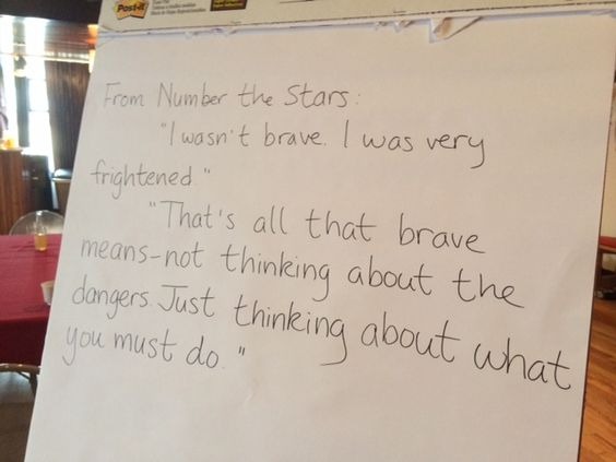 Number the Stars quote -PattyChangAnker.com | Brave Words ...
