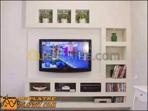 Decoration Interieur Exterieur Alger Dely Brahim Algerie Decoration Meuble Tv Placoplatre Decoration Salon Meuble Tv