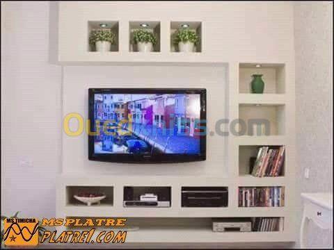 Decoration Interieur Exterieur Alger Dely Brahim Algerie Decoration Meuble Tv Placoplatre Decoration Salon Meuble Tv