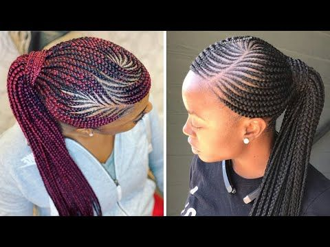 2020 Ghana Weaving Styles Latest Ghana Weaving For Ladies Ghana Braids Hairstyles Ghana Braids Braids Hairstyles Pictures