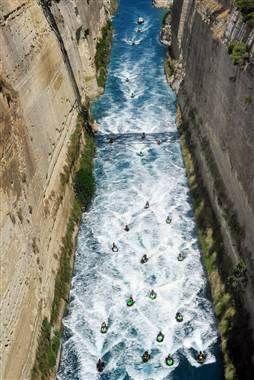 ... through the Canal of  Corinth , Peloponnese: Countries Greece, Bucket List, Favorite Places, Corinth Peloponnese, Grecia Europa, Greece Channel, Greece My Heart, Greece Vision Board, Corinth Canal