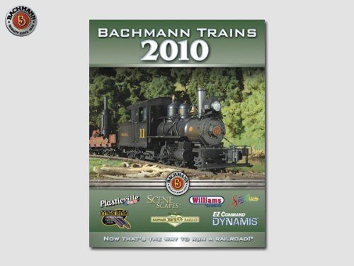 2010 Bachmann/Williams Catalog by Bachmann Industries. $15.00. BACHMANN OFFERS EXCEPTIONALLY DETAILED PRODUCTS FOR MODEL RAILROADS AND DIORAMAS.