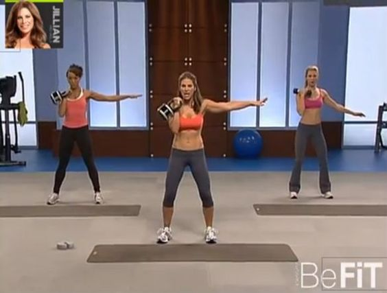 Jillian michaels shred it with weights workout fitness