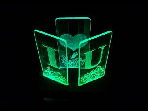 Diy Kreasi Resin Dengan Lampu Led Resin Art Easy Project For Begginers Youtube Led Lamp Diy Led Diy Led Lamp