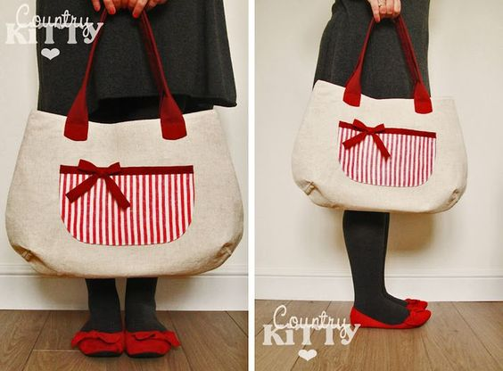 Countrykitty: Amelie Bag (new pattern!)