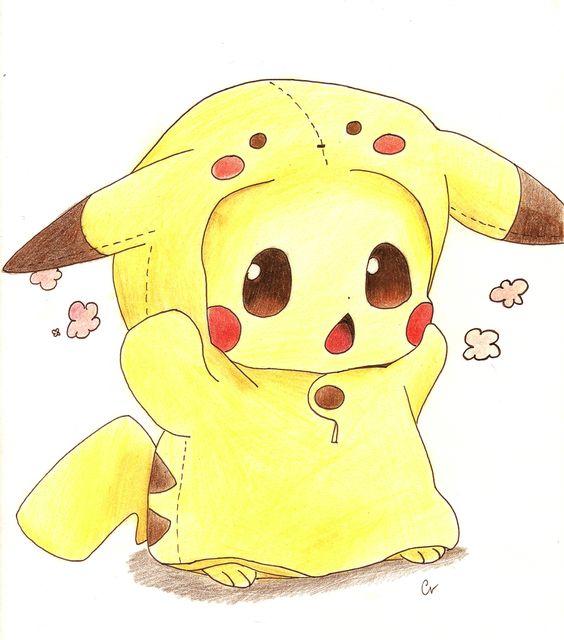 Cute baby pikachu - photo#7