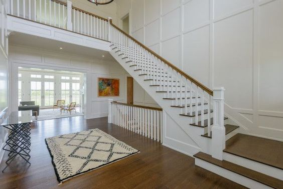 staircase steven harris | ... NY 8 Bedroom Home For Sale South Of Highway | Brown Harris Stevens